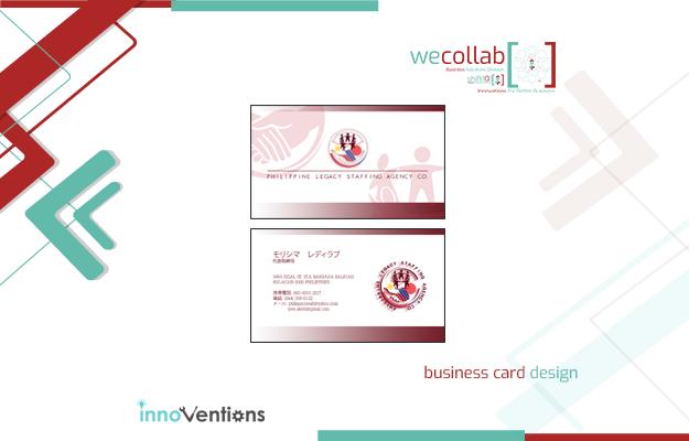 Business Card Design (Philippine Legacy Nihongo Center Corp.)