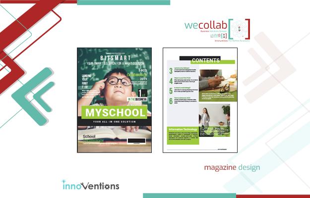 Magazine Design (mySchool)