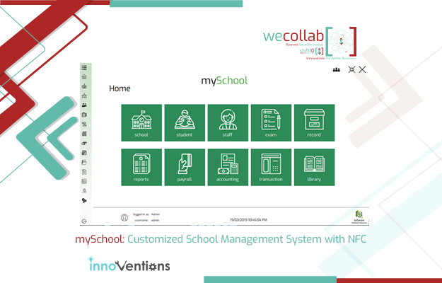 mySchool: Customized School Management System with NFC (Near-Field Communication)